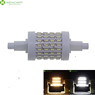 cheap LED Corn Lights-7W R7S LED Corn Lights Recessed Retrofit 72 SMD 4014 550-600 lm Warm White Cold White 3000-3500  6000-6500 K Dimmable AC 85-265 V