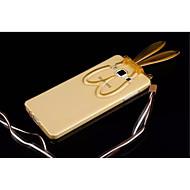 Для Кейс для  Samsung Galaxy со стендом / Прозрачный / С узором Кейс для Задняя крышка Кейс для 3D в мультяшном стиле TPU SamsungA8 / A7