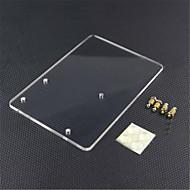 お買い得  -Arduinoの宇野r3のためのアクリル実験プラットフォームプレート - 透明