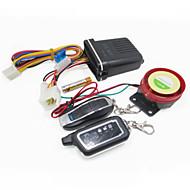 abordables Piezas de Moto y de Quad-moto scooter de 2 vías de alarma sensor de vibración del mando a distancia del sistema de seguridad 125dB altavoz de alarma antirrobo
