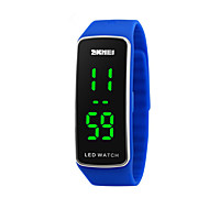 cheap Sport Watches-Sport Watch Digital Calendar / date / day Cool Silicone Band Digital Fashion Black / Blue / Red - Red Blue Pink Two Years Battery Life / Maxell2025
