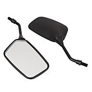 pair motorfiets motor side achteruitkijkspiegel zwart 10mm