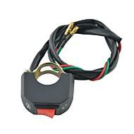 Недорогие Запчасти для мотоциклов и квадроциклов-Переключатель руль мотоцикла на кнопку разъема переключателя включения / выключения 12V DC противотуманная фара света