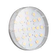4w gx53 led spotlight 25 smd 5050 180-200lm varmvit 2800k AC 220-240v 1pc