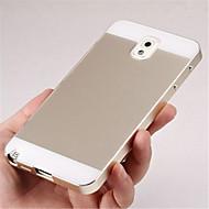 twee-in-één KX merk metalen frame acryl spiegel backplane metalen koffer voor Samsung Galaxy Note 3