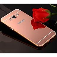 Недорогие Чехлы и кейсы для Galaxy A8-Кейс для Назначение SSamsung Galaxy Кейс для  Samsung Galaxy Покрытие / Зеркальная поверхность Кейс на заднюю панель Однотонный Акрил для A8 / A7 / A5