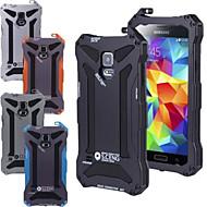 billige Mobilcovers-Etui Til Samsung Galaxy Samsung Galaxy etui Stødsikker Bagcover Rustning Metal for S5