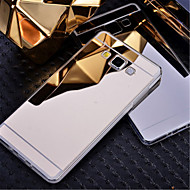 cheap Samsung Accessories Weekly Deals-Case For Samsung Galaxy Samsung Galaxy Case Plating Mirror Back Cover Solid Color PC for A8 A7 A5 A3