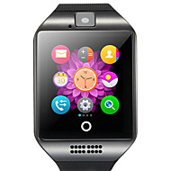Q18 Έξυπνο ρολόι Android Bluetooth USB Οθόνη Αφής Θερμίδες που Κάηκαν Κλήσεις Hands-Free Φωτογραφική μηχανή / Χρονόμετρο / Υπενθύμιση Κλήσης / Παρακολούθηση Δραστηριότητας / Παρακολούθηση Ύπνου