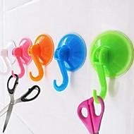 저렴한 -1PCS 부엌 욕실 (임의의 색상)에 대한 강력한 진공 흡입 컵 빠는 벽 후크 걸이