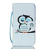Назначение Samsung Galaxy S7 Edge Чехлы панели Кошелек Бумажник для карт со стендом Флип Чехол Кейс для Сова Искусственная кожа для