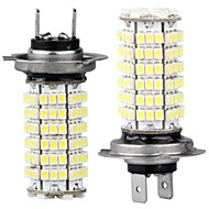 2 x HL7 polttimo lampun 3528 SMD LEDit 120 valkoinen 12v auton