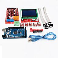 3d nyomtató vezérlő rámpák 1.4 + mega2560 r3 + 5 x a4988 + lcd12864 vezérlőkártyáját 3d nyomtató