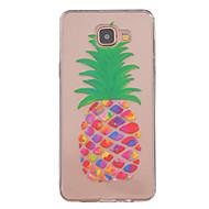 Voor Samsung Galaxy hoesje Hoesje cover Transparant Patroon Achterkantje hoesje Fruit TPU voor Samsung Galaxy A5(2016) A3(2016)