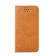 baratos Capinhas /Cases para Samsung-Capinha Para Samsung Galaxy S7 edge S7 Porta-Cartão Carteira Com Suporte Flip Capa Proteção Completa Côr Sólida Rígida PU Leather para S7