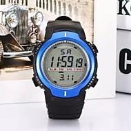 abordables Relojes Digitales-Niño Reloj Deportivo Reloj de Moda Digital Plastic Banda Negro