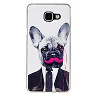 Для Кейс для  Samsung Galaxy Чехлы панели С узором Задняя крышка Кейс для С собакой TPU для Samsung A5(2016) A3(2016)