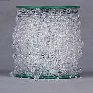 한 색상 라인스톤 웨딩 리본-1 조각 / 세트 라인스톤 리본