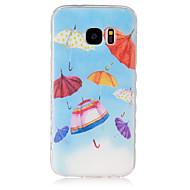 Для Кейс для  Samsung Galaxy С узором Кейс для Задняя крышка Кейс для Мультяшная тематика TPU SamsungS7 / S6 edge / S6 / S5 Mini / S5 /