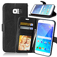 Leather Wallet Flip Cover+Cash Slot+Photo Frame Phone Cases for Samsung Galaxy S7/S7 Edge/S6 Edge +/S6 Edge/S6/S5/S4