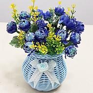 お買い得  -人工花 1 ブランチ シンプルなスタイル バラ テーブルトップフラワー
