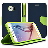 For Samsung Galaxy Note with Stand / Flip Case Full Body Case Solid Color PU Leather Samsung Note 5 / Note 4 / Note 3