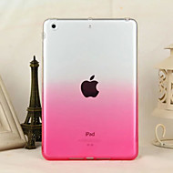 cheap iPad Accessories-Transparent Gradient Soft TPU Material Protective Case for iPad mini 3/2/1 (Assorted Colors)