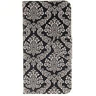 Для Кейс для  Samsung Galaxy Бумажник для карт / со стендом / Флип / С узором / Магнитный Кейс для Задняя крышка Кейс для Плитка PC