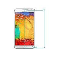 お買い得  Samsung 用スクリーンプロテクター-スクリーンプロテクター のために Samsung Galaxy Note 3 強化ガラス スクリーンプロテクター 指紋防止