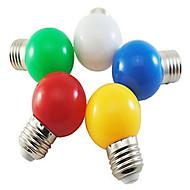お買い得  -1個 1 W 80 lm E26 / E27 LEDボール型電球 G45 8 LEDビーズ SMD 2835 装飾用 / 愛らしいです ホワイト / レッド / ブルー 220-240 V / 1個 / RoHs