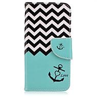 Для Samsung Galaxy S7 Edge Кошелек / Бумажник для карт / со стендом / Флип Кейс для Чехол Кейс для Якорь Искусственная кожа SamsungS7