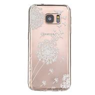 Недорогие Чехлы и кейсы для Galaxy S-Кейс для Назначение SSamsung Galaxy Samsung Galaxy S7 Edge Рельефный Кейс на заднюю панель Животное ТПУ для S7 edge S7