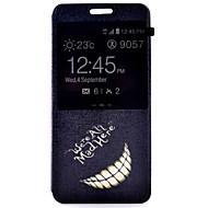 Недорогие Чехлы и кейсы для Galaxy A5(2016)-Кейс для Назначение SSamsung Galaxy Кейс для  Samsung Galaxy со стендом / с окошком / Флип Чехол Слова / выражения Кожа PU для A7(2016) / A5(2016) / A3(2016)