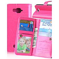 karzea ™ szilárd műbőr tokban kártyabirtokos és állni Alcatel c7 (vegyes színek)