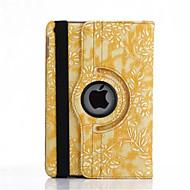 360 stupnjeva grožđa zrno PU Koža Flip cover slučaj za iPad 4/3/2 (miješanih boja)