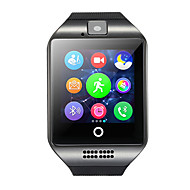 Q18 Smartwatch Android Bluetooth USB Touch Screen Calories Burned Hands-Free Calls Camera Timer Call Reminder Sleep Tracker Sedentary Reminder Find My Device / Alarm Clock / Pedometers / MTK6261
