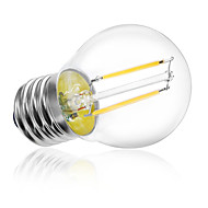 2W E26/E27 LED Filament Bulbs A60(A19) 2 High Power LED 180 lm Warm White Cold White 3000K/6500K K Decorative AC 220-240 V