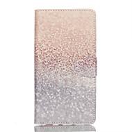 Недорогие Чехлы и кейсы для Galaxy A3(2016)-Кейс для Назначение SSamsung Galaxy Кейс для  Samsung Galaxy Бумажник для карт со стендом Флип Магнитный С узором Чехол Градиент цвета