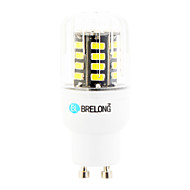 5W GU10 LED-lampa T 30 lysdioder SMD Varmvit Kallvit 450lm 6000-6500;3000-3500K AC 220-240V