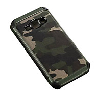 cheap Galaxy J1 Cases / Covers-Case For Samsung Galaxy Samsung Galaxy Case Shockproof Back Cover Camouflage Color PC for J7 J5 J2 J1
