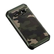 olcso Galaxy J7 tokok-Mert Samsung Galaxy tok Ütésálló Case Hátlap Case Álcázás PC Samsung J7 / J5 / J2 / J1
