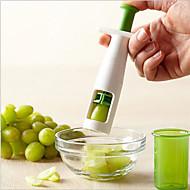 1 kpl Cutter & Slicer For hedelmien / vihannesten Ruostumaton teräs Erikois / Ympäristöystävällinen / Creative Kitchen Gadget