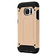 お買い得  携帯電話ケース-ケース 用途 Samsung Galaxy Samsung Galaxy S7 Edge 耐衝撃 バックカバー 鎧 PC のために S7 Active S7 plus S7 edge S7 S6 edge plus S6 edge S6