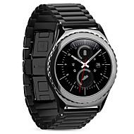 Недорогие Часы для Samsung-Ремешок для часов для Gear S2 Classic Samsung Galaxy Классическая застежка Нержавеющая сталь Повязка на запястье