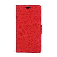 halpa Puhelimen kuoret-Varten Huawei kotelo / P9 / P9 Lite / P8 Lite / Mate 8 Lomapkko / Korttikotelo / Tuella Etui Kokonaan peittävä Etui Piirros Kova Tekonahka