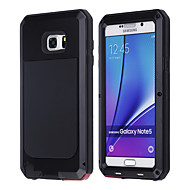 cheap Cases / Covers for Samsung-LOGROTATE® Aluminum Waterproof Shockproof Gorilla Glass Case for Samsung Galaxy Note 5 (Assorted Color)
