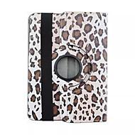 Для Кейс для  Samsung Galaxy со стендом / Флип / С узором / Поворот на 360° Кейс для Чехол Кейс для Леопардовый принт Искусственная кожа