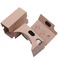 abordables Gafas de Realidad Virtual-cartón DIY de realidad virtual en 3D gafas de realidad virtual tookit (versión mejorada de la lente de 34 mm)