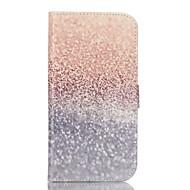 お買い得  携帯電話ケース-ケース 用途 Samsung Galaxy Samsung Galaxy S7 Edge カードホルダー ウォレット スタンド付き フリップ フルボディーケース 風景 PUレザー のために S7 plus S7 edge S7