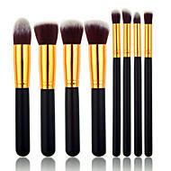 8ks Make-up štětce Profesionální Kartáčové soupravy Syntetické chlupy / Štětec z umělých vláken Střední štětec / Malý štětec